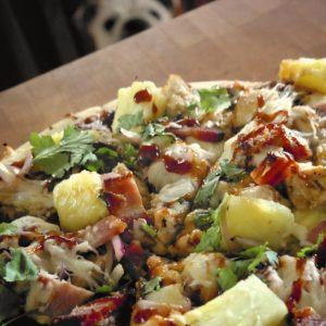 Barbecue Pineapple Chicken Pizza